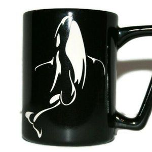 Sea World Coffee Mug Engraved Etched Killer Whale